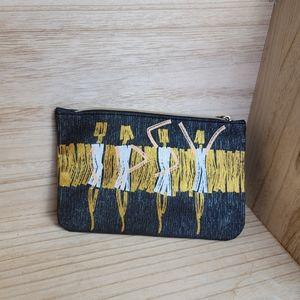 Ipsy Zippered Shimmer Makeup Bag